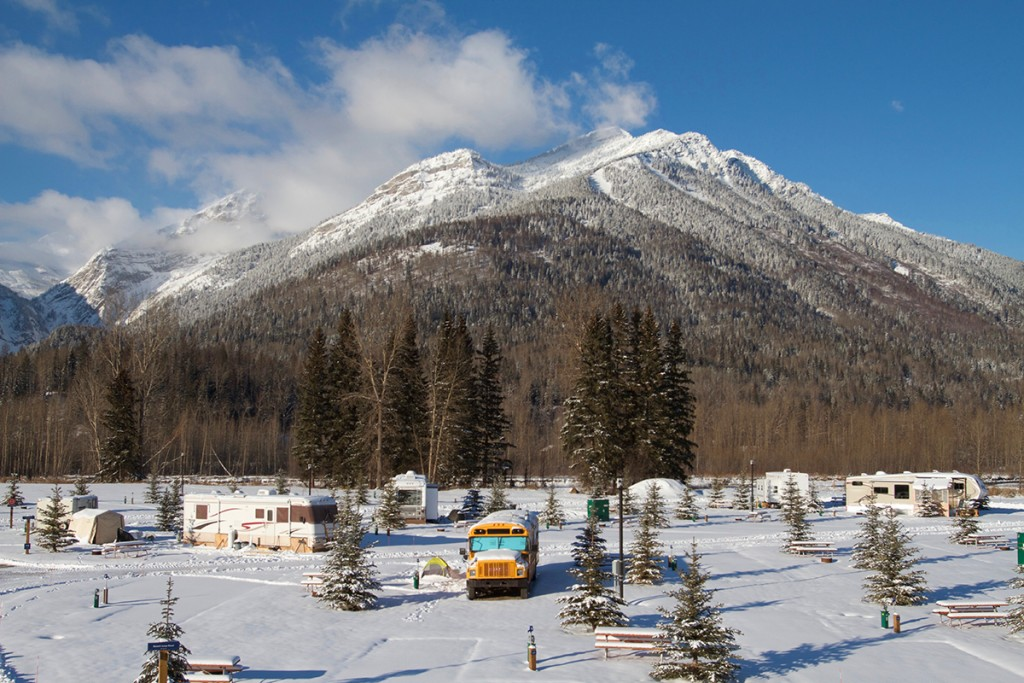 Fernie RV Resort Mt Proctor LR