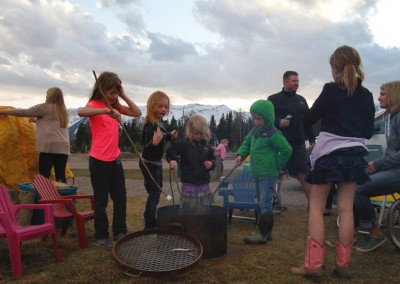 Fernie Rv Resort Kids fire