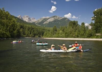 Floating Elk River