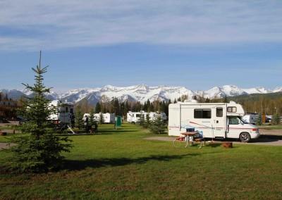Lizard Range campers Fernie
