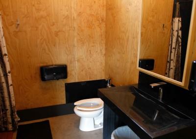 Washroom interior
