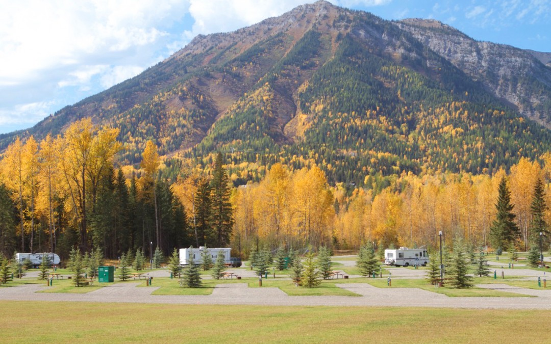 Fernie RV Resort End of Summer