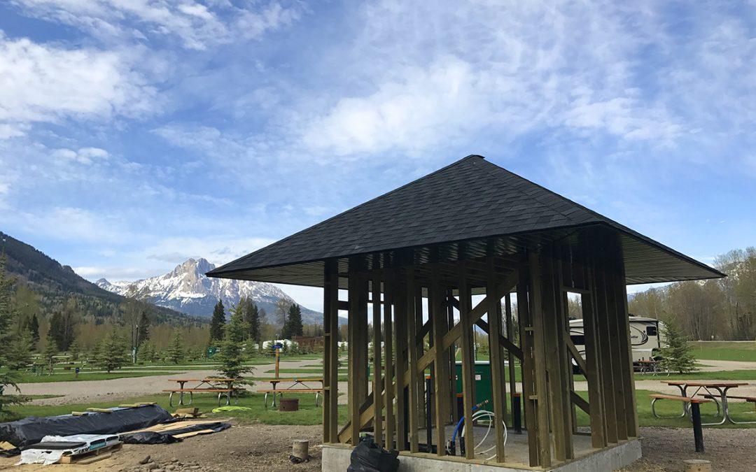 New Tent Area Facility
