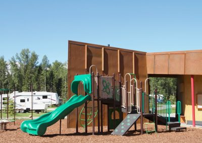 Fernie RV Resort playground