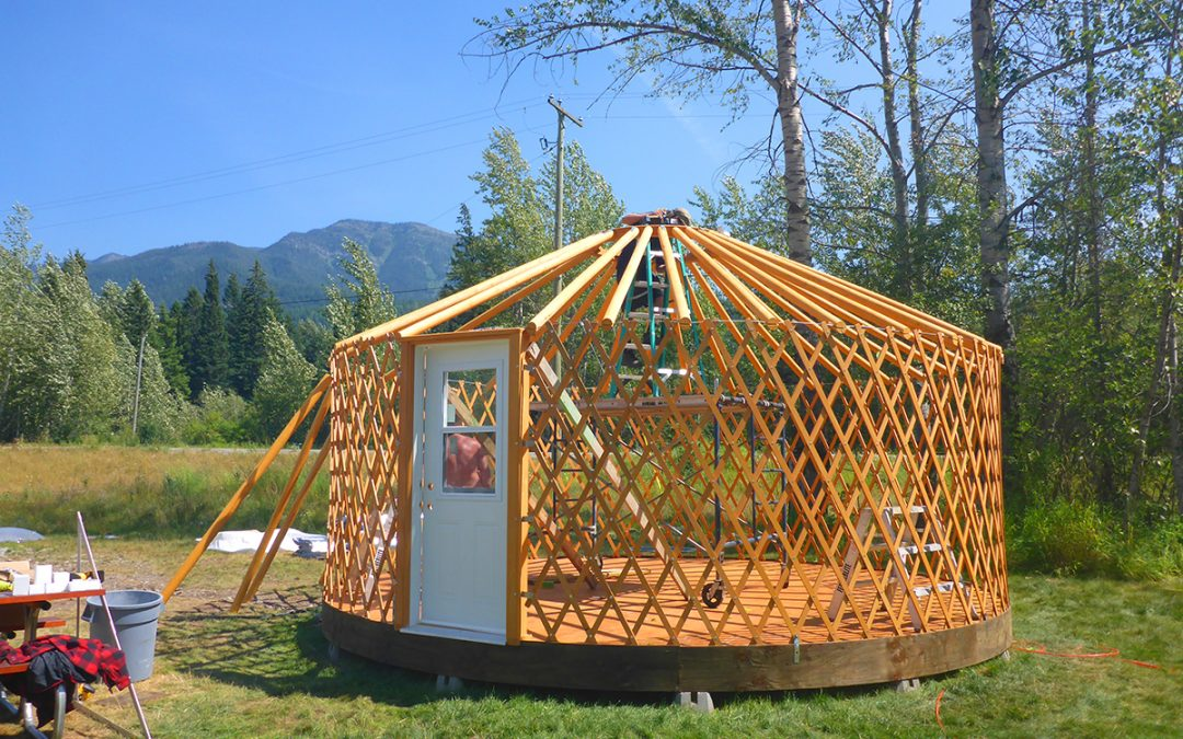 Luxury camping or 'glamping' comes to Fernie