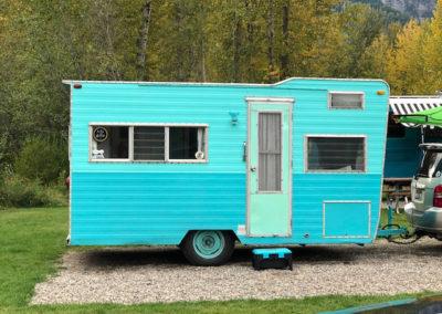 Sisters vintage trailer