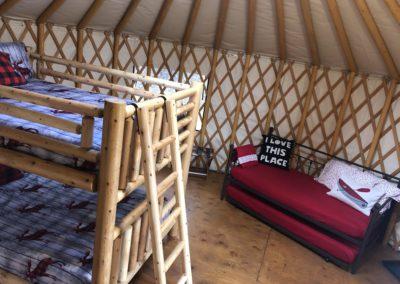Fernie yurt beds