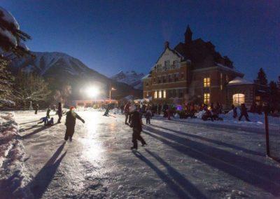 Fernie Ice skating