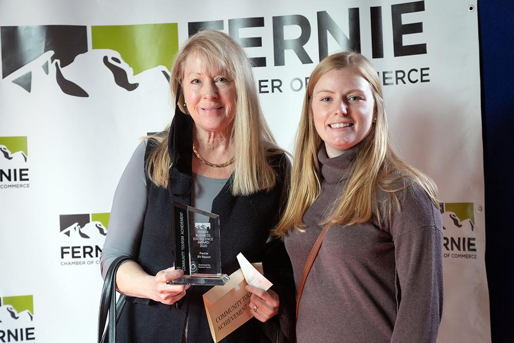 FRVR receives the Community Tourism Achievement Award