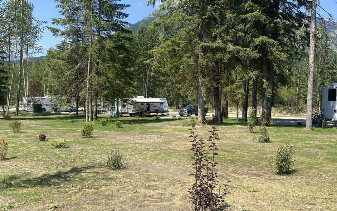 Riverside Sites open to Happy Campers!